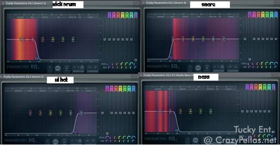 Creating Space in the Mix with the Parametric EQ